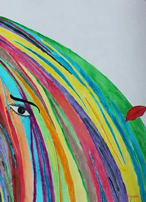 Colors Variant 4 Art Print by Scientila Duddempudi