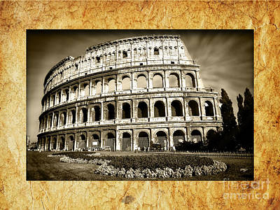 Colosseum Photograph - Colosseo by Stefano Senise