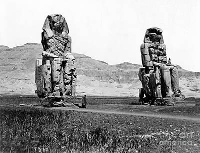 Colossi Of Memnon, Valley Of The Kings Art Print by Science Source