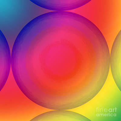 Digital Art - Colours Of A Cell by Susan Stevenson