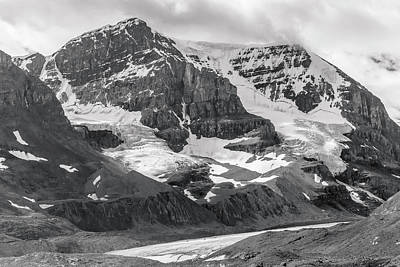 Photograph - Columbia Icefield by Mark Mille