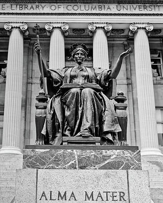 Photograph - Columbia University Library - Alma Mater by Mountain Dreams