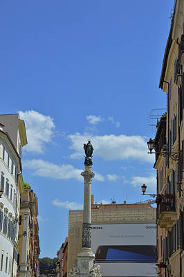 Photograph - Column Of The Immaculate Conception by JAMART Photography