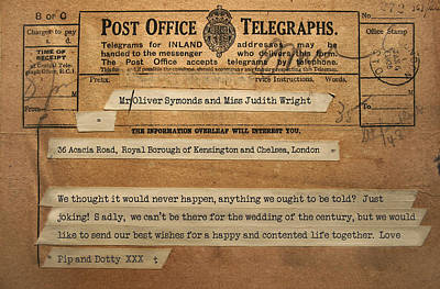 Antiquated Photograph - Communications Before The Digital Age by Panoramic Images