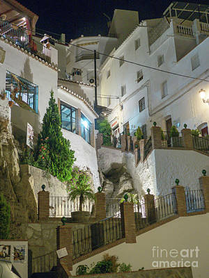Photograph - Competa At Night by Rod Jones
