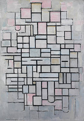 Piet Painting - Composition Iv by Piet Mondrian