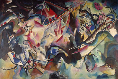 Spots Painting - Composition Vi by Wassily Kandinsky