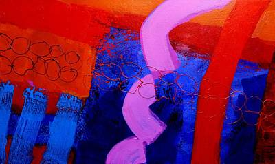 Abstract Movement Painting - Con Moto by John  Nolan