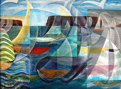 Painting - Conception Bay Sailing by Douglas Pike
