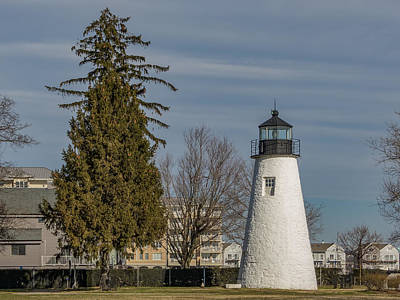 Concord Point Light Print by Capt Gerry Hare