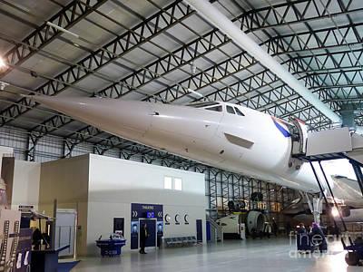 Photograph - Concorde G-boaa by Rod Jones