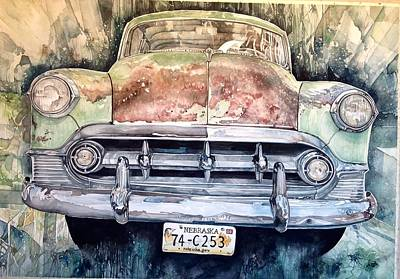 Painting - Condon's Coupe by Lance Wurst