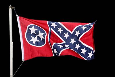 Photograph - Confederate-flag by Ericamaxine Price