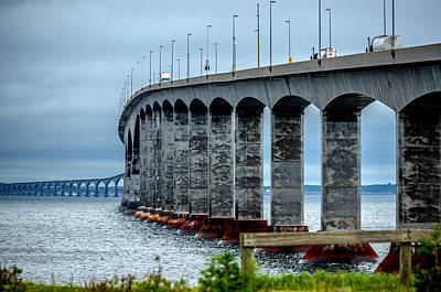 Photograph - Confederation Bridge by Patrick Boening