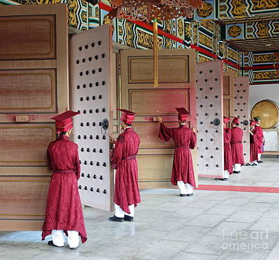 Photograph - Confucius Ceremony At The Kaohsiung Confucius Temple by Yali Shi