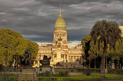 Congreso Argentina Art Print