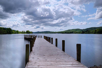 Fruehling Photograph - Coniston Water - Lake District by Joana Kruse