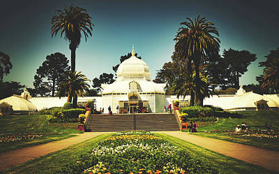 Photograph - Conservatory Of Flowers - San Francisco by Library Of Congress