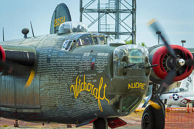 Photograph - Consolidated B-24j Liberator by Jack R Perry