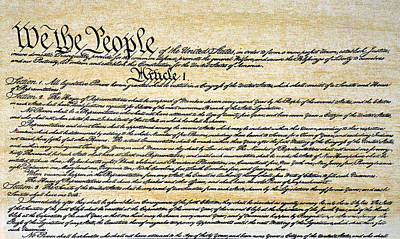 Constitutional Convention Photograph - Constitution by Granger