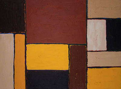 Painting - Construction by John Farley