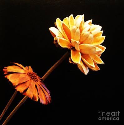 Contemporary Natural Flowers Art Print by Marsha Heiken