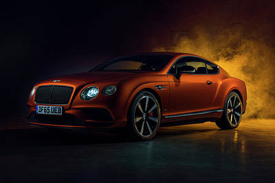 Photograph - Continental Gt V8s by Gijs Spierings
