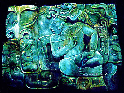 Replica Painting - Conversations In Mayan by Tania Williams