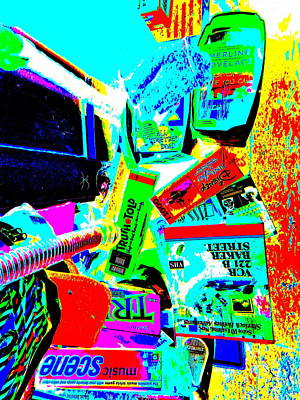 Photograph - Cool Clutter 45 by George Ramos