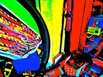 Photograph - Cool Clutter 49 by George Ramos