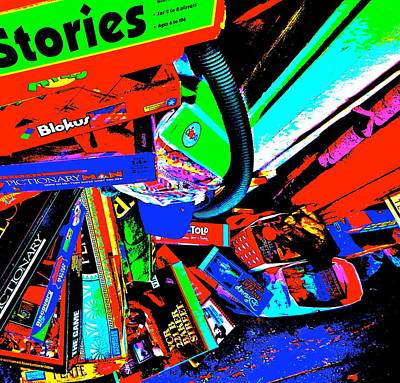 Photograph - Cool Clutter 75 by George Ramos