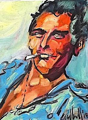 Painting - Cool Luke by Les Leffingwell