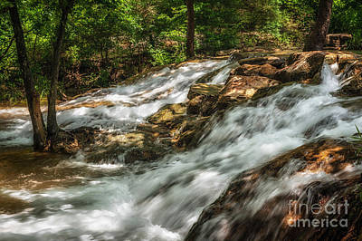 Photograph - Cooling Waters At The Chickasaw National Recreation Area by Tamyra Ayles