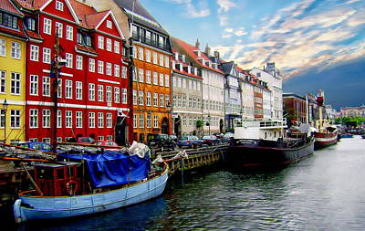 Photograph - Copenhagen - Denmark by Anthony Dezenzio