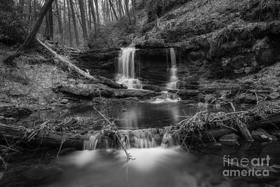 Photograph - Coppermine Falls  by Michael Ver Sprill