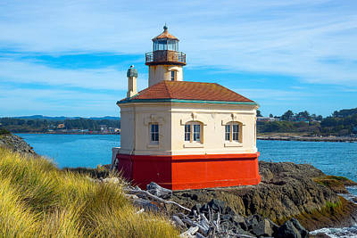 Keith Richards - Coquille Lighthouse by Dennis Bucklin