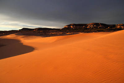 Photograph - Coral Pink Sand Dunes At Sunset by Pierre Leclerc Photography