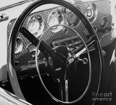 Photograph - Cord Phaeton Dashboard by Neil Zimmerman