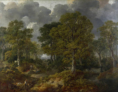 Farming Painting - Cornard Wood, Near Sudbury, Suffolk by Thomas Gainsborough
