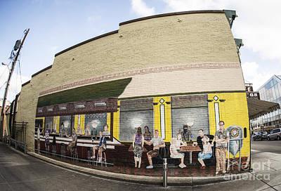 Photograph - Corner Cafe by David Bearden
