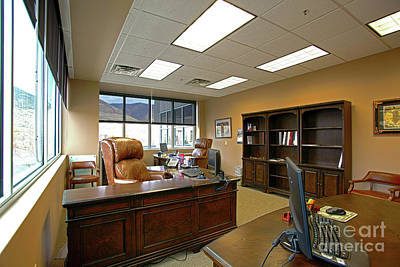 Photograph - Corner Office by Richard Lynch