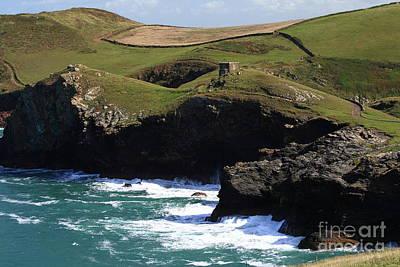 Cornish Coast Art Print by Carl Whitfield