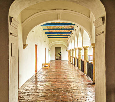 Photograph - Corridor by Maria Coulson
