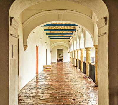 Photograph - Corridor by Maria Coulson