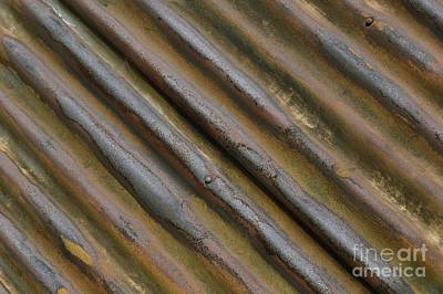 Photograph - Corrugated 2 by Wendy Wilton
