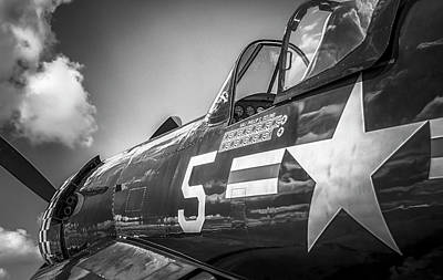 Photograph - Corsair - Bw Series by Eric Miller