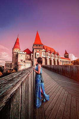 Photograph - Corvin Castle by Chris Thodd