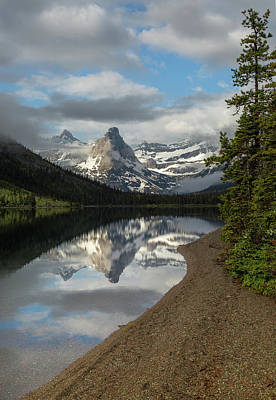 Photograph - Cosley Lake // Glacier National Park  by Nicholas Parker
