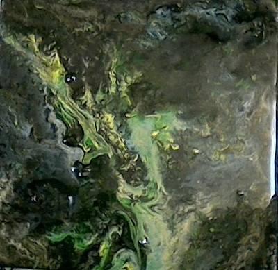 Cosmic Ash Art Print