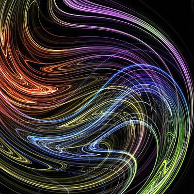 Photograph - Cosmic Swirl by Mark Blauhoefer